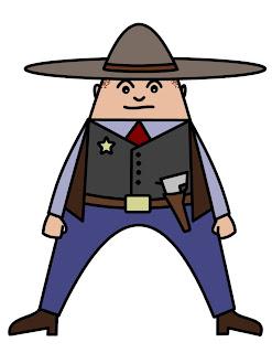a25a53515 How To Draw Cartoons: Cowboy