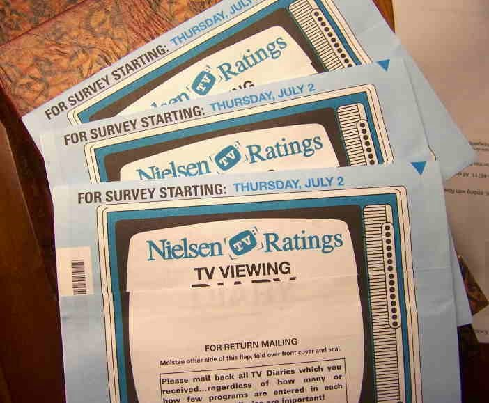 Nielsen ratings track TV viewing