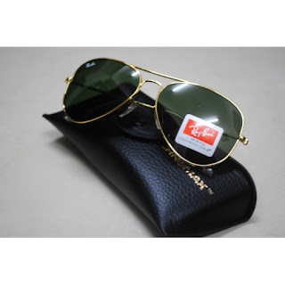3d00f65add4f4 New Ray Ban Aviator 3025 Silver Green (M)  www.facebook.com hanilzamonlinestore. RM 120.00 ( USD 50 ) (HIGH QUALITY  GRADE AAA) Size  Medium