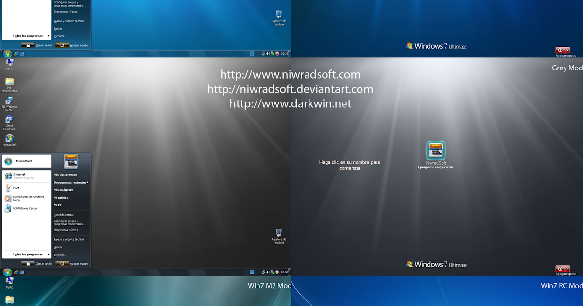 Theme Styles: Free XP to Windows 7 Transformation Pack ...