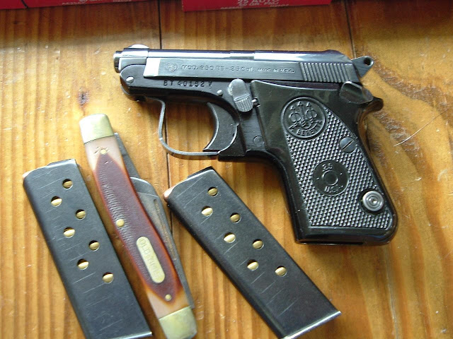 The Next Chapter: Beretta 950 BS Jetfire  25 ACP