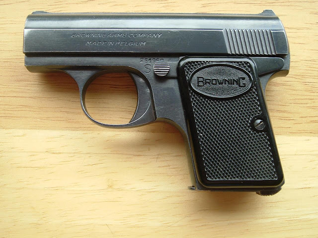 The Next Chapter: Baby Browning F&N and PSA  25 ACP