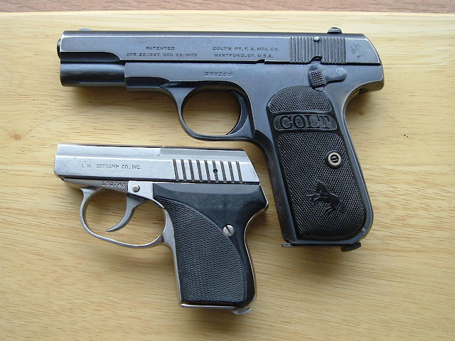 The Next Chapter: Colt 1903 Model M Pocket Hammerless  32 ACP