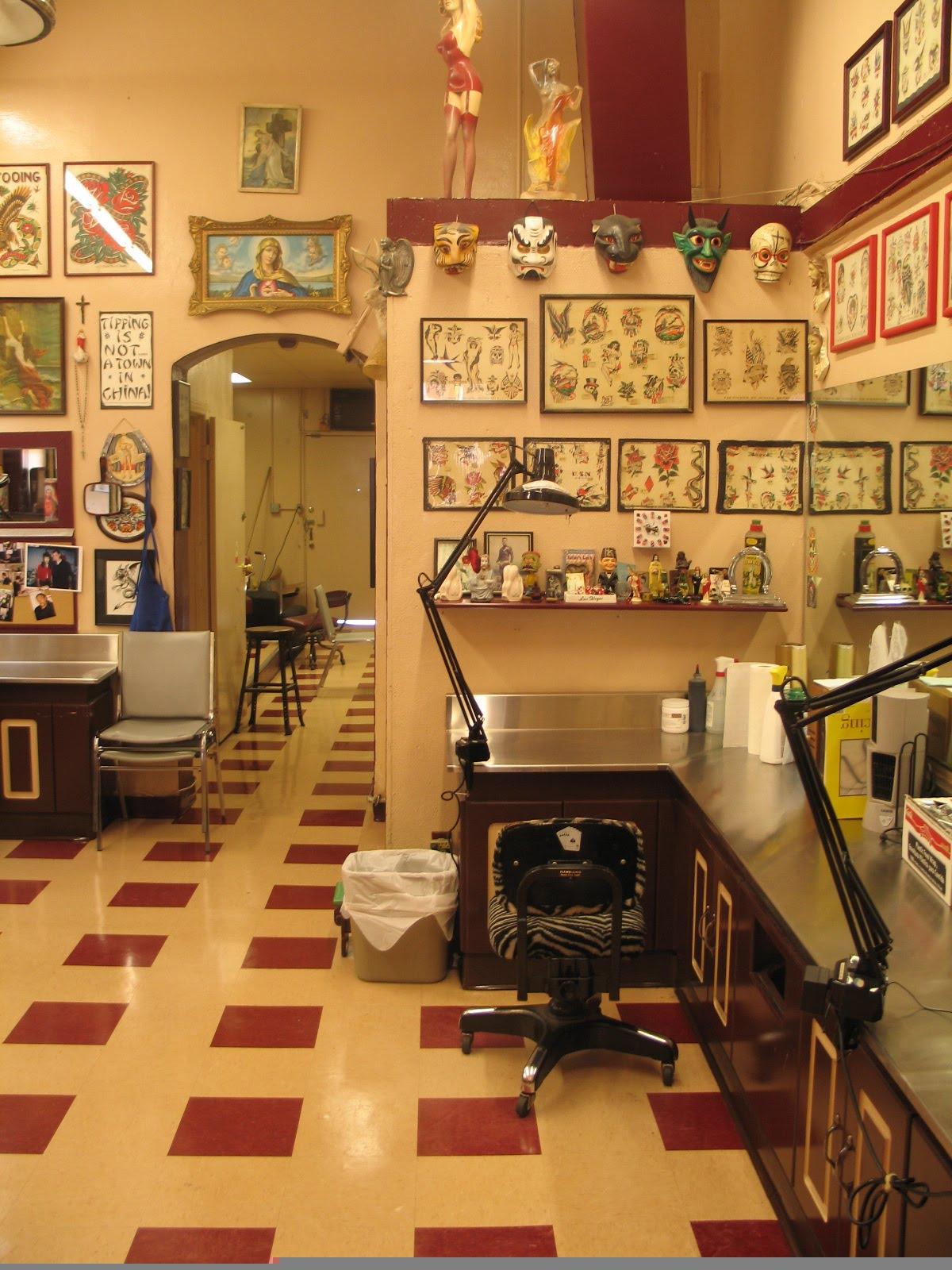 tattoo classic eric shops decor maaske shoppe studios styles parlour san francisco july