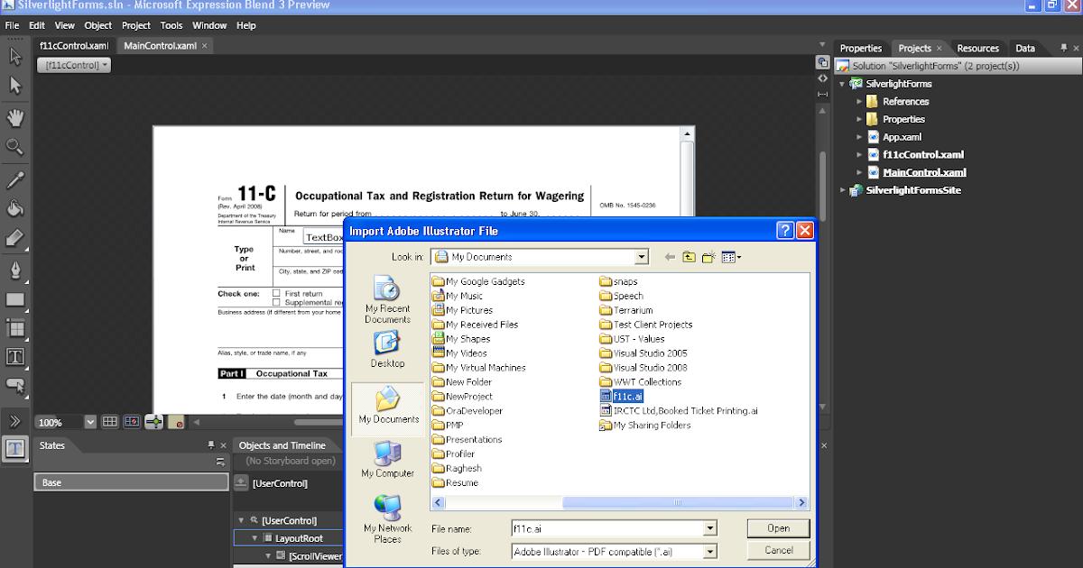 PDF to XAML Conversion - Alternate Thoughts