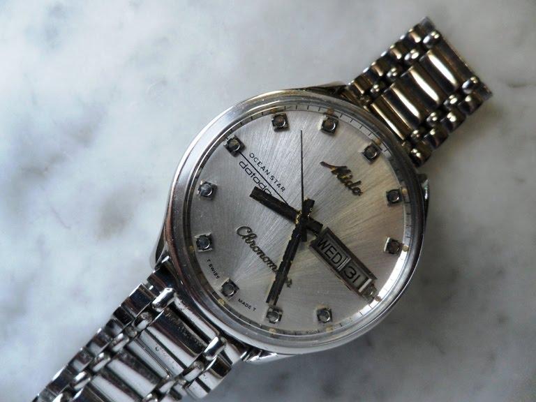 a49f70aea80 jam klasik  Mido Ocean Star Datoday Chronometer