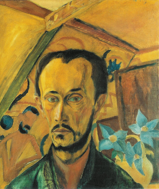 Erich Heckel Self Portrait