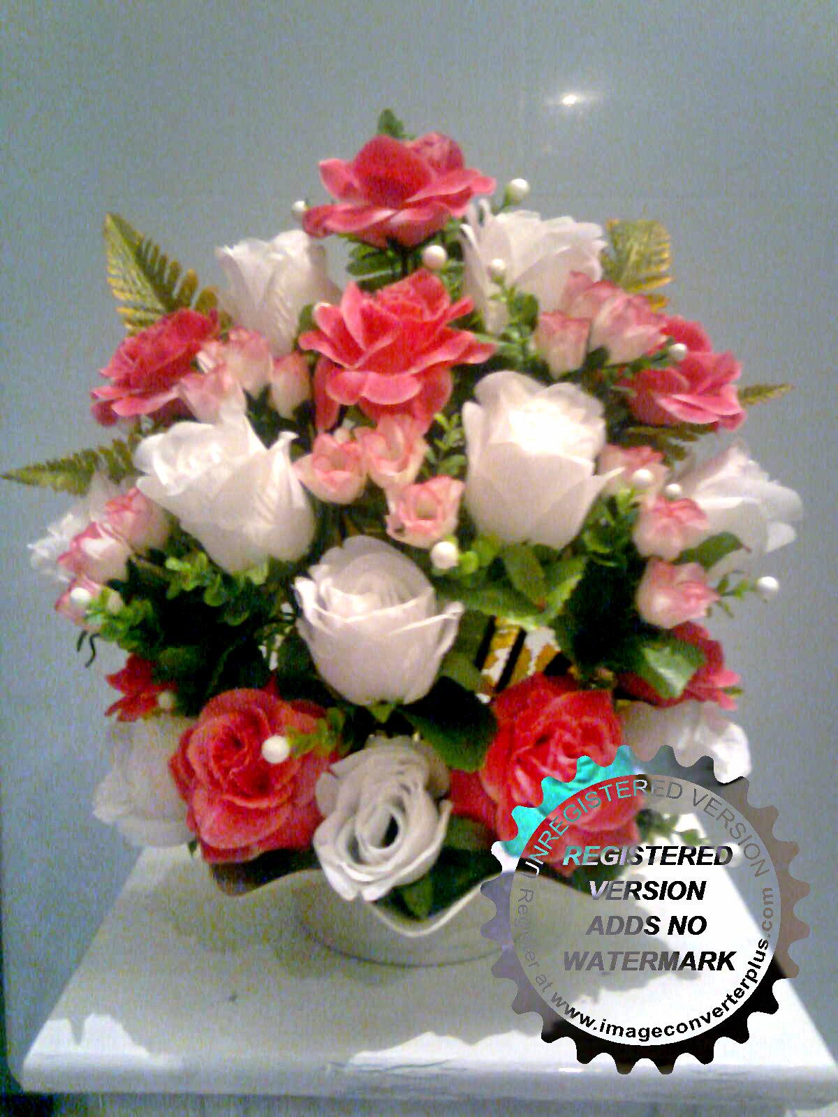 Bunga Meja Untuk Ruang Tamu