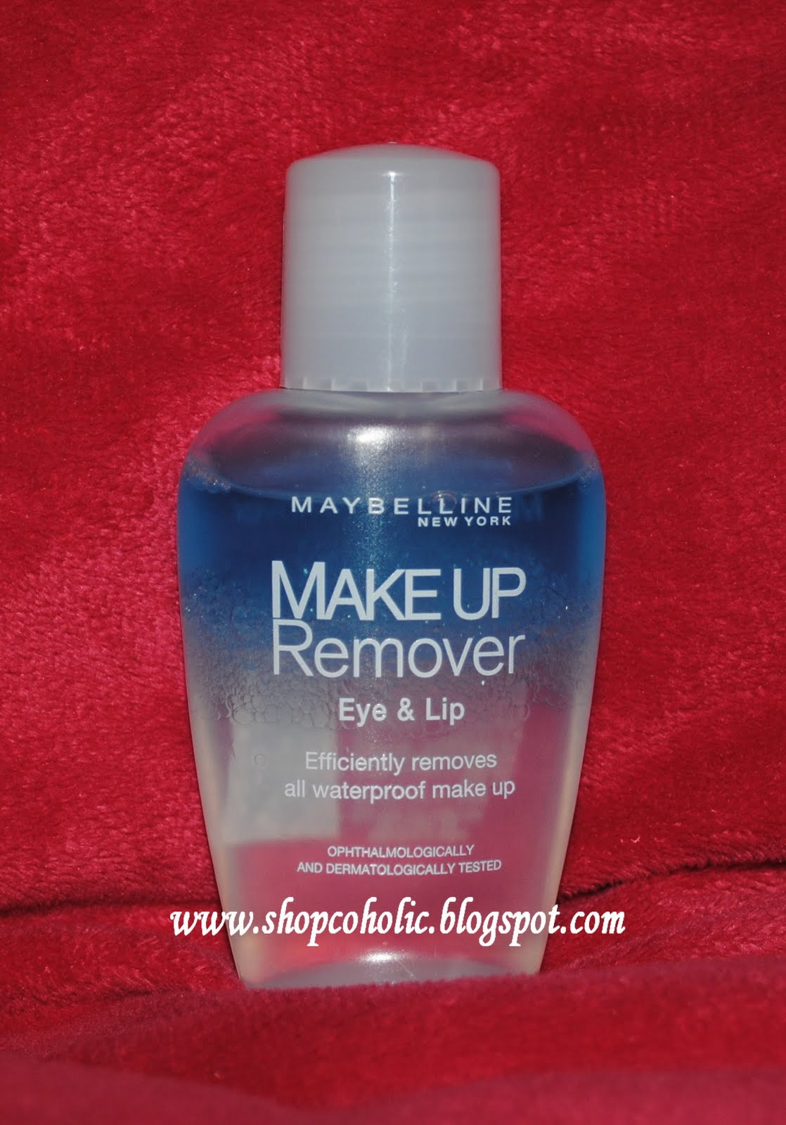 Makeup Removal Important Skin Care Routine: Review : Maybelline Eye And Lip Makeup Remover