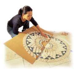 Craft Central Making Marble Floor Medallion