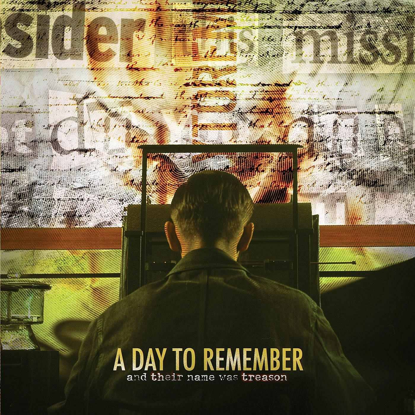 A Day To Remember - And Their Name Was Treason 2005 » Area ... A Day To Remember Album Cover