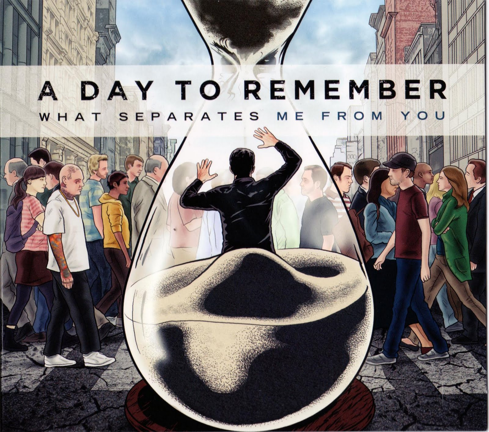 A DAY TO REMEMBER ~ MUNDO UNDERGROUND A Day To Remember Album Cover