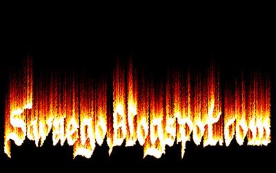 Создание огненного текста в Фотошопе
