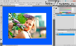 Колоризация фотографий в Photoshop CS5.Имитация кросс-процессинга.