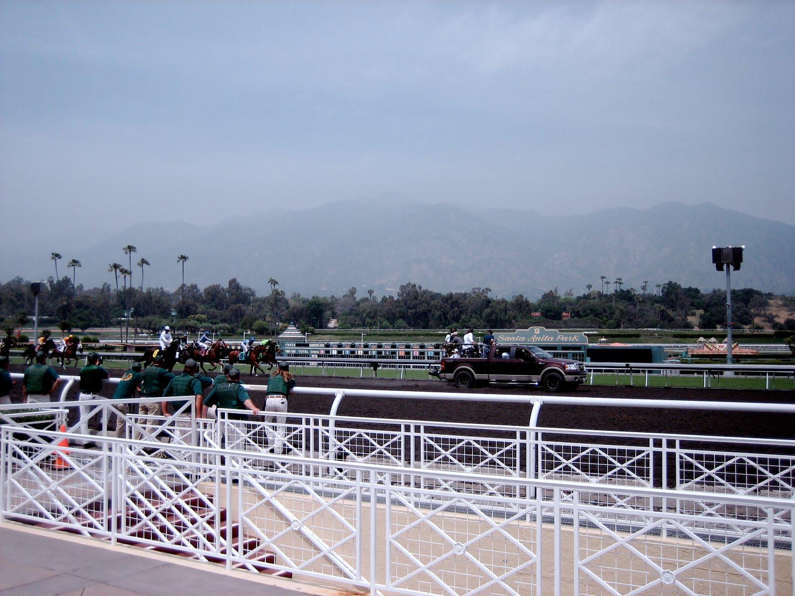 Mary Forney S Blog Santa Anita Starting Gate Crew In Hbo