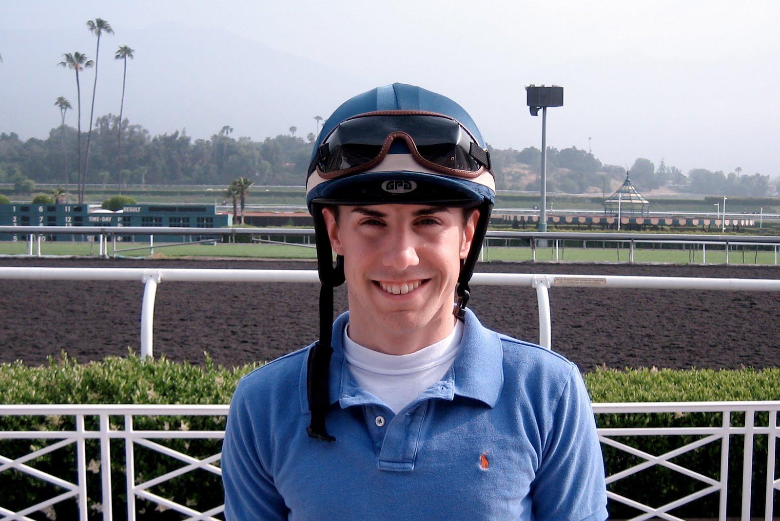 Mary Forney S Blog Jockey Joe Talamo On His Way To