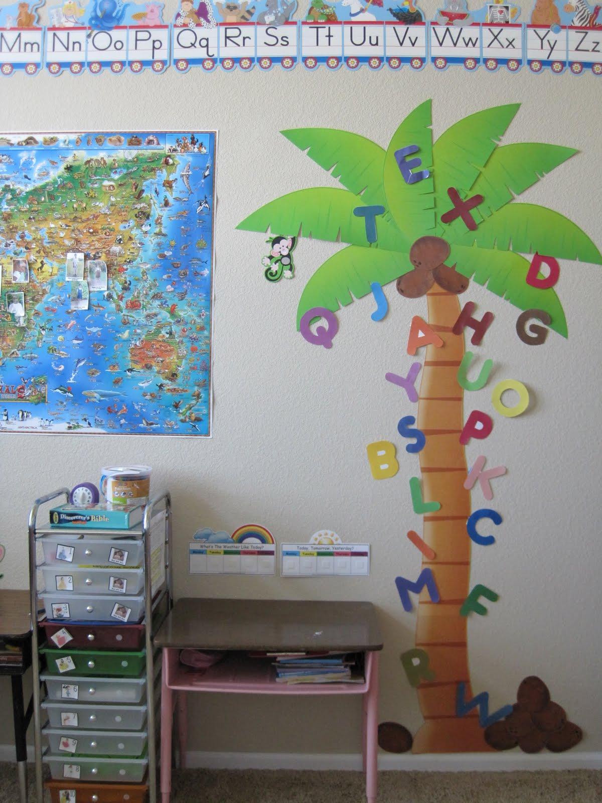 Alphabet Tree Letters