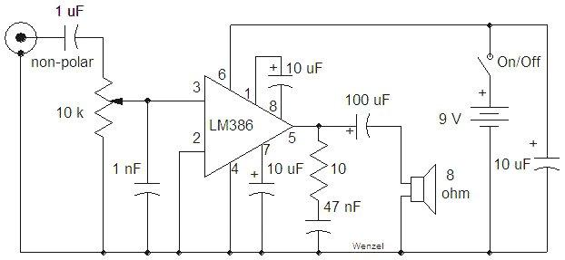 Simple Audio Mixer Diagrams Com