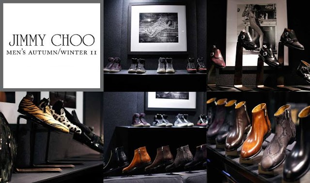 JIMMY CHOO MEN'S COLLECTIONS