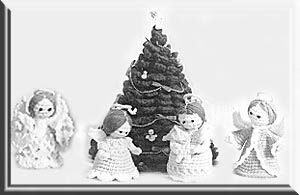 2000 Free Amigurumi Patterns: Four little angels for the