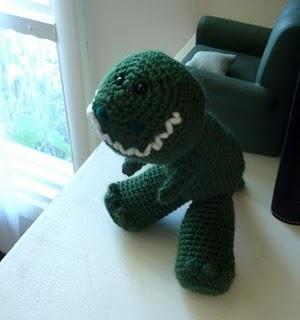 Crochet Amigurumi Dinosaur Free Patterns | Crochet toys patterns ... | 320x300