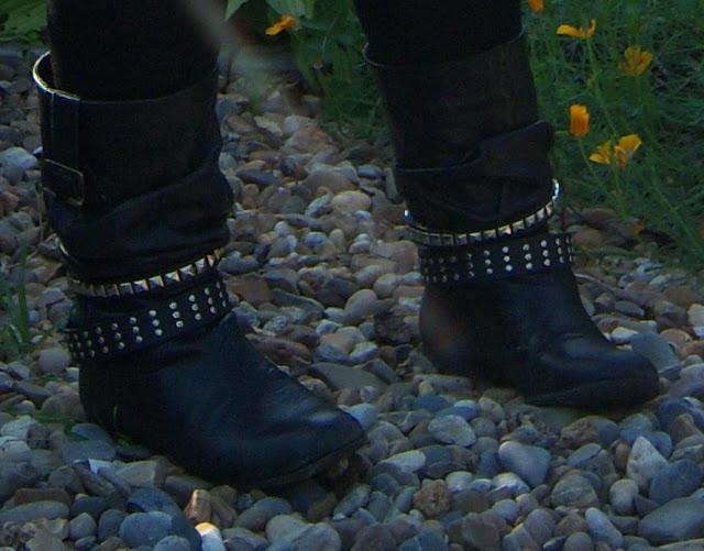 Mes bottines cloutées de cet hiver... je les fais moi-même! (DIY)