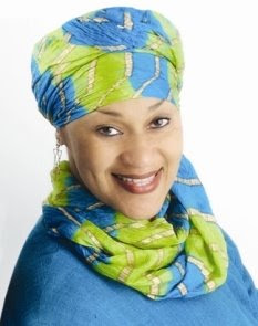 Photo of Tayyibah Taylor.  Via the Muslimah Writers Alliance blog.