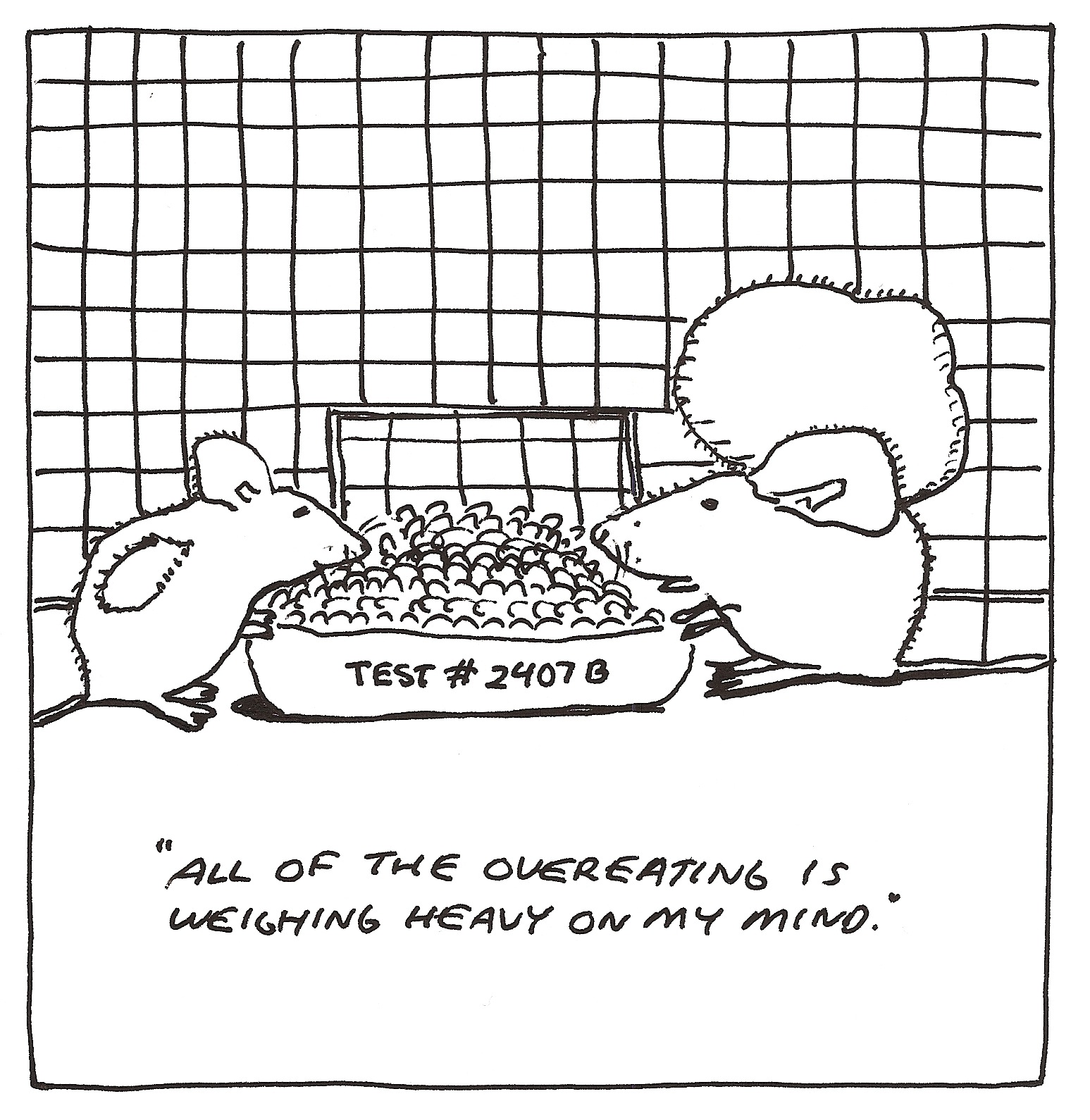 berry cartoons: berry cartoon animal testing