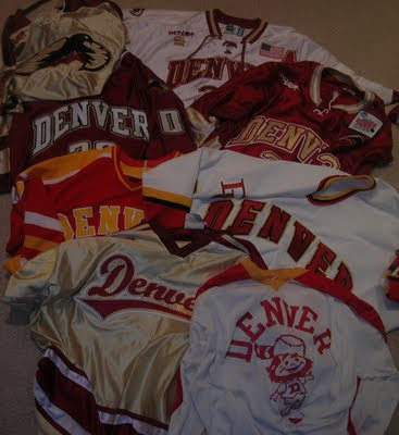 (above) Raifie Bass  collection of game worn hockey jerseys a7537327f