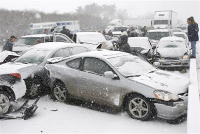ALMA'S SOULFOOD: 100-Car Pile Up
