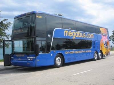 Chennai Travel Guide: NEW BUSES * USA - Megabus launches