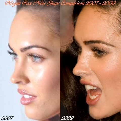In addition, body language or facial expression of Megan Fox 2009