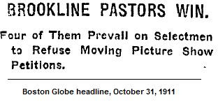 Illustration: Globe Headline, 1911