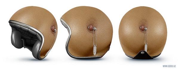 Risultati immagini per boobs helmet