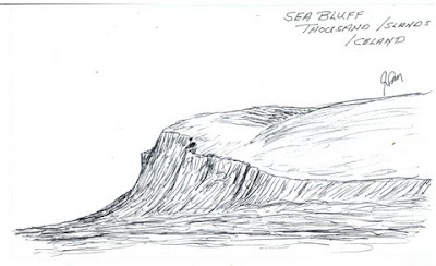 JIM MATHEWS' SKETCHES: Sea Bluff, Thousand Islands Tour
