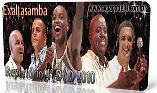 CD EXALTASAMBA NOVO AO VIVO 2010 DO BAIXAR