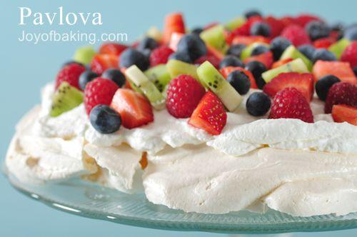 Light Fruit Cake Recipe Joy Of Baking: Have The Cake: July Challenge: Pavlova