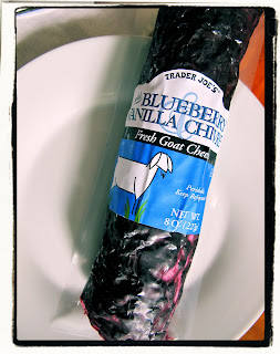Image result for trader joe's blueberry goat cheese