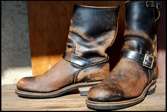 Red Wing Shoes Amsterdam Some Really Worn In 2268 Steel