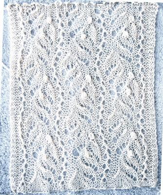 Fleegle's Blog: Estonian Lace Swatches