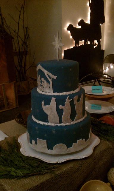 Sweetie Babe Cakes Nativity Cake