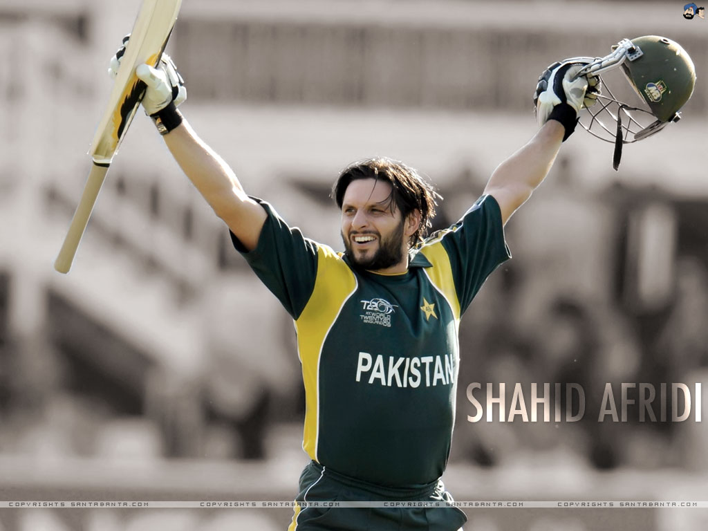 SPORTS GALLERY: Shahid Afridi Wallpapers