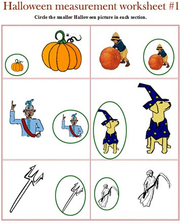 Halloween Worksheets For Kindergarten Free - halloween worksheets ...