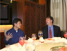 Dinner with Robin Li from Baidu