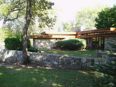 Life At 55 Mph Alvin Miller House By Frank Lloyd Wright
