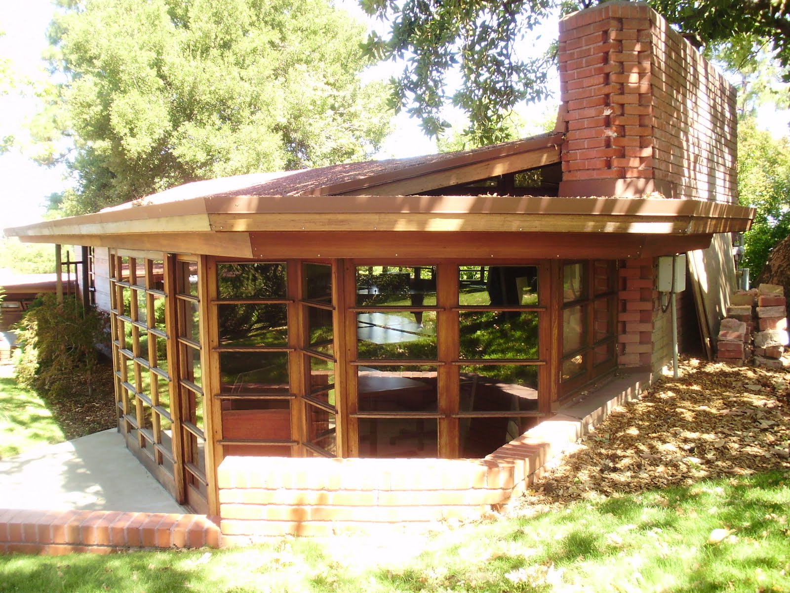 Life At 55 Mph The Hanna House By Frank Lloyd Wright In