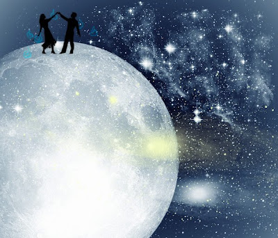 Resultado de imagen de poema sobre la luna
