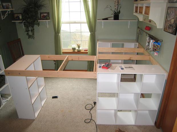 White Craft Desk