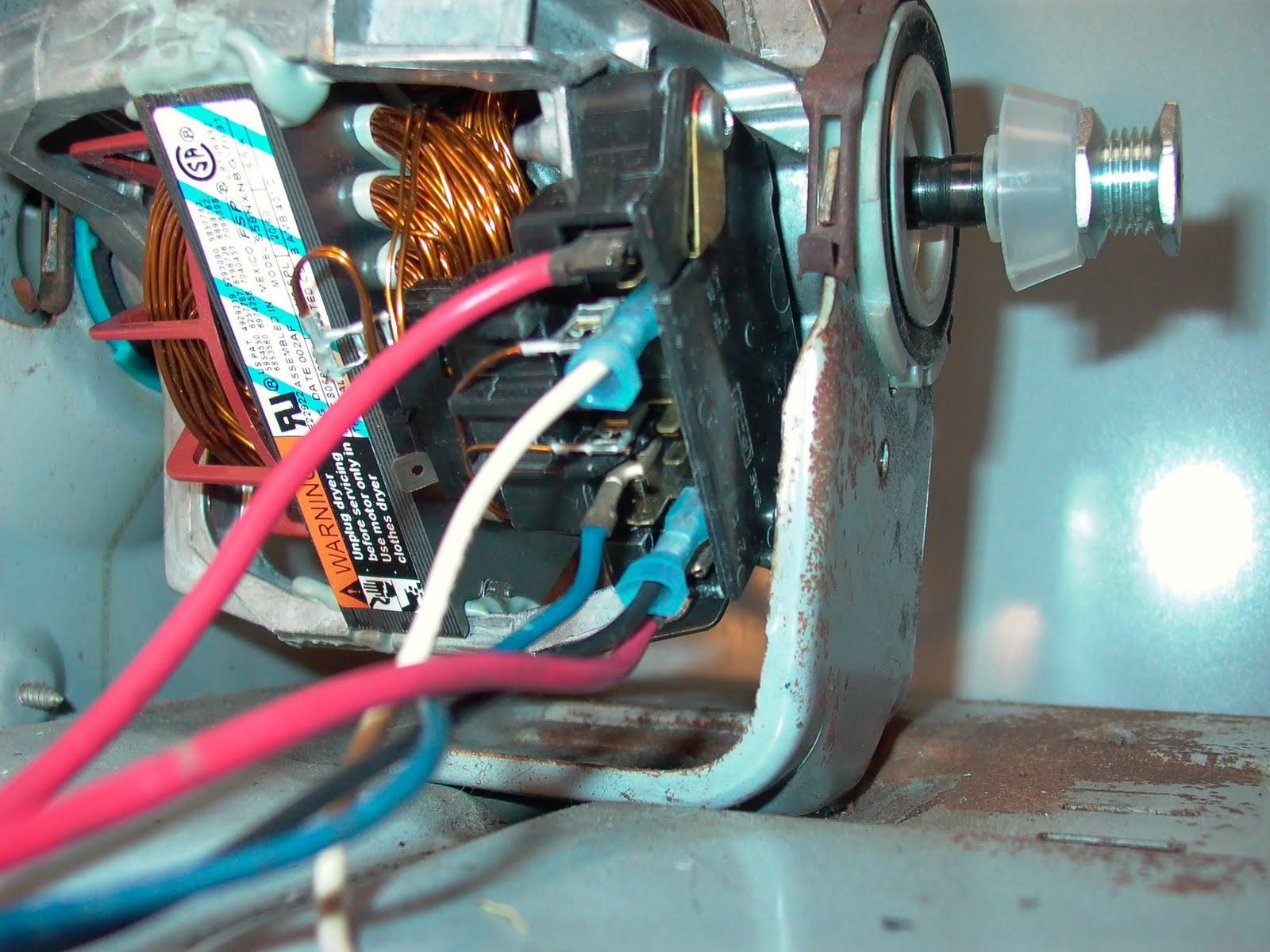 Wiring Diagram Dryer Motor