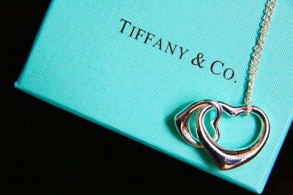 2f159e13c Elsa Peretti® Open Heart Pendant. Elsa Peretti® Open Heart pendant in sterling  silver and 18k rose gold ...